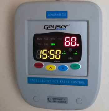 East Rand Solar Geyserwise Hot Water Controller Square